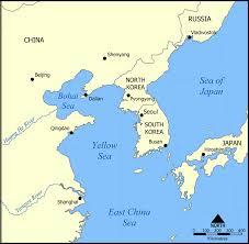 East China Sea Map Gelbes Meer U2013 Wikipedia
