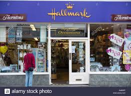 hallmark cards shop uk stock photo royalty free image 71444983