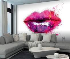 patrice murciano lips wall mural wallpaper mural by patrice