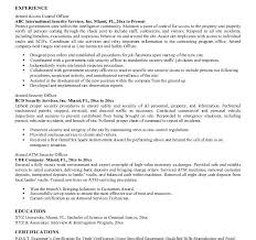 Sample Security Resume by Excellent Idea Security Guard Resume Sample 12 Officer Cover