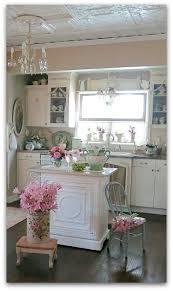 Shabby Chic Kitchen Design by 140 Best Shabby Chic Kitchens Images On Pinterest Shabby Chic
