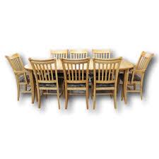 Argos Oak Furniture Chair Wildridge Outdoor Heritage 9 Piece Rectangular Dining Set