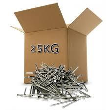 25 kg box 75mm bright nails bulk buy