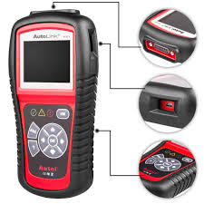 car check engine light code reader autel car diagnostic scanner autolink al519 obd2 check engine light