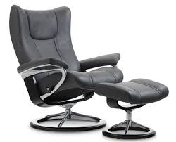 Stressless Recliner Chairs Reviews Stressless Wing Leather Recliner Chairs