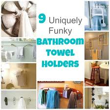 funky bathroom ideas 9 uniquely funky bathroom towel holders bath and
