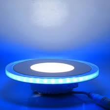 17 watt round recessed glass blue halo fitting ledbrite