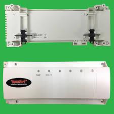 underfloor heating 4 zone master control wiring centre unit