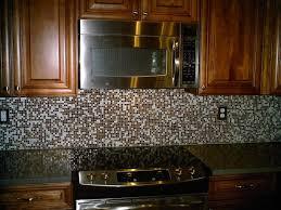 Copper Penny Tile Backsplash - ideas glass mosaic tile backsplash home design and decor patterns