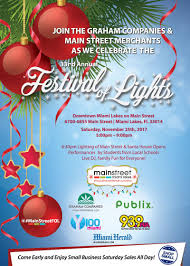 33rd annual main street festival of lights u0026 small business