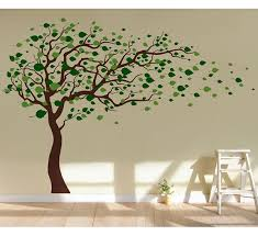 pop decors tree blowing in the wind wall decal reviews wayfair