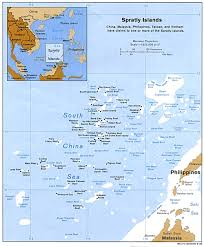 map of the islands spratly islands maps perry castañeda map collection ut library
