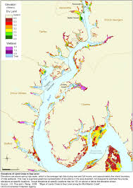 Northern Virginia Map Sea Level Rise Planning Maps Likelihood Of Shore Protection In