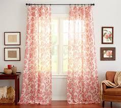 Sheer Coral Curtains Fresh Coral Sheer Curtains And Sheer Coral Curtains Home Interior