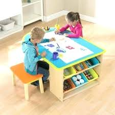 kids craft table with storage kids craft table arts and crafts table and chairs a large tabletop
