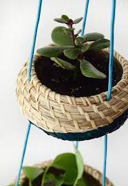 ikea planter hack ikea hack clever hanging planter basket set curbly