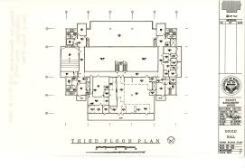 gould hall floor plan u2014 uw libraries