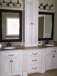 Designed Bathrooms by Bathroom Bath Vanities And Cabinets Custom With Whiote Classic