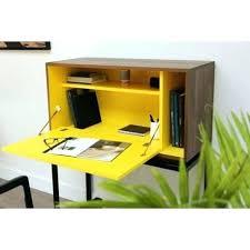 bureau secr騁aire meuble meuble secretaire design blanc bureau socialfuzz me