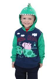 Halloween Costumes Peppa Pig Peppa Pig George Pig Dino Roar Hoodie Boys