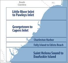 south carolina beaches map south carolina coastal weather south carolina