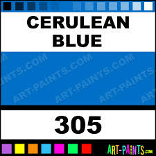 cerulean blue colors oil paints 305 cerulean blue paint