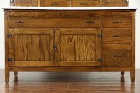 sold hoosier oak kitchen pantry cupboard roll top 1915 antique