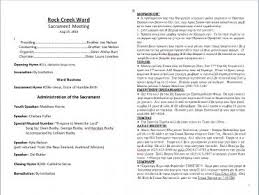 Church Programs Templates Bulletins In Ms Word Format Page 6 Ldstech
