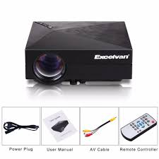 aliexpress com buy excelvan gm60 mini portable led projector for