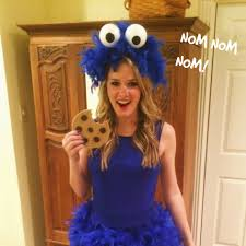 diy cookie monster costume