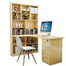 childrens desk and bookshelves household corner desktop bookshelf combination wooden children s