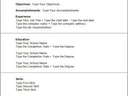 Resume Builder For First Job Resume For First Job Examples Simple Resume Examples For Jobs