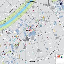 Lyon Metro Map by