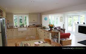 extension kitchen ideas lean to extension handmade kitchen transform architects house