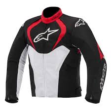 waterproof bike jacket alpinestars t jaws textile waterproof motorcycle jacket amazon co