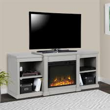 ameriwood furniture edgewood tv console with fireplace for tvs