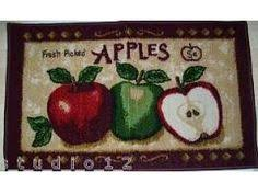 Apple Kitchen Rugs Slip Resistant Apple Design Wool Rug Oh How I Would To