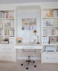built in desk and shelving more