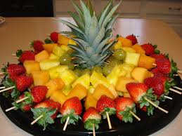 fruit decorations hawaiana 79 ideas brillantes fruit skewer food