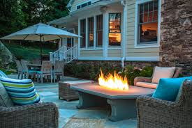 Firepit Dining Table by Outdoor Fire Pit Ideas Tips To Build Midcityeast