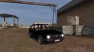 Golf Gti Mk2 Interior Vw Golf Mk2 Gti Edited By Traian Ets 2 Mods