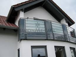 edelstahl balkon mit glas balkongeländer simonmetall gmbh co kg in tann rhön günthers