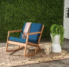 Blue Wicker Rocking Chair Pat7013c Outdoor Home Furnishings Outdoor Rocking Chairs Rocking