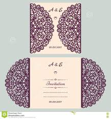 E Wedding Invitation Cards Die Cut Wedding Invitation Card Template Paper Cut Out Card With