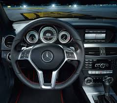 mercedes digital dashboard mercedes benz reveals new 2013 c class sport package with amg