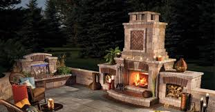 Unilock Fire Pit by Fire Pit Seating And Wood Storage Solutions For Overland Park