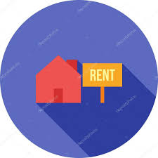house on rent house on rent icon u2014 스톡 벡터 dxinerz 76672053