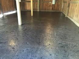concrete floor in a rustic pole barn blackwater concrete