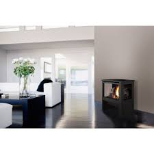 cypress direct vent freestanding gas fireplace