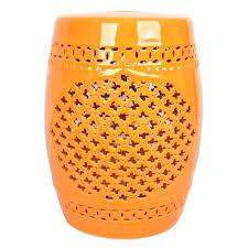 stools ceramic drum stool melbourne metal garden stool yellow
